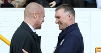 Sean Dyche (l) and Nigel Pearson (r): Both Sunderland contenders