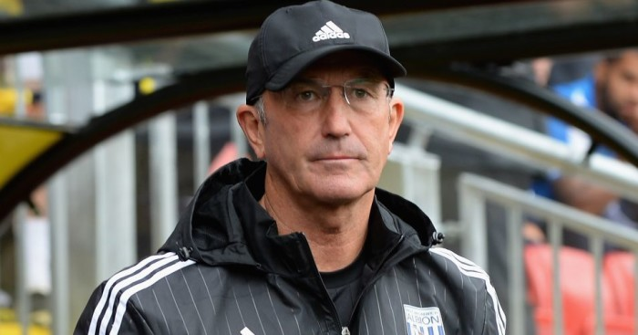 Tony Pulis: Has a year left on West Brom deal