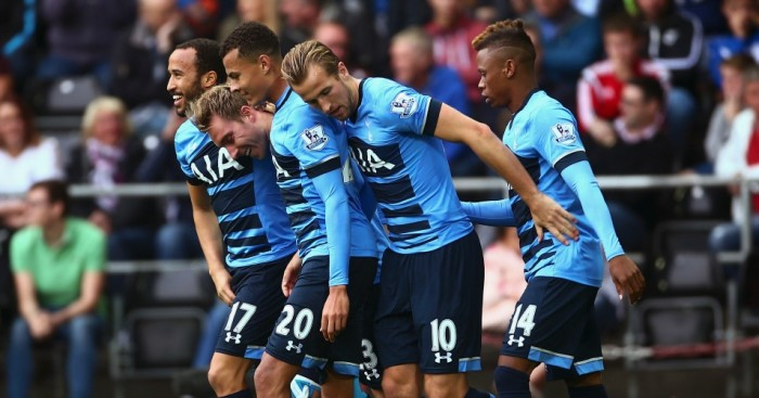 Tottenham: Twice came from behind to draw at Swansea City