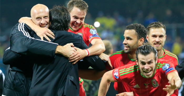 Wales: Celebrate qualification on Saturday night