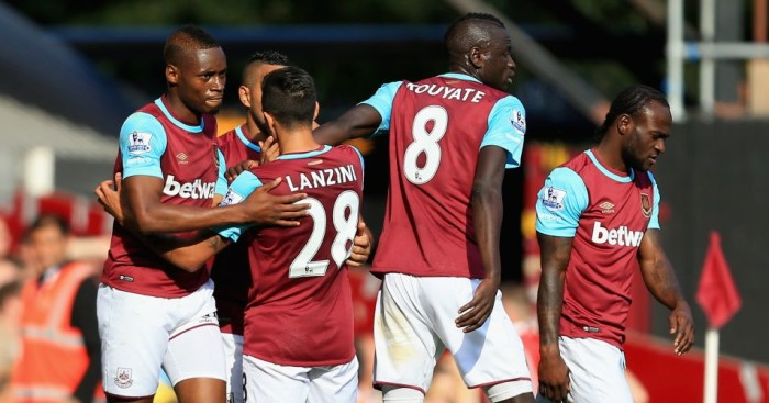 West Ham: Have won first three Premier League away games