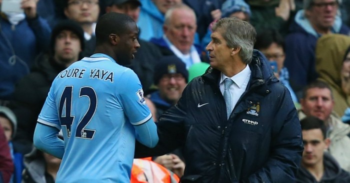 Yaya Toure: Has been backed by Pellegrini