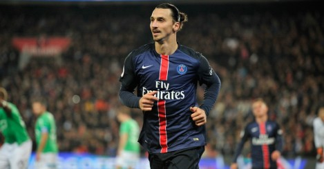 Zlatan Ibrahimovic: Could move to Premier League in summer