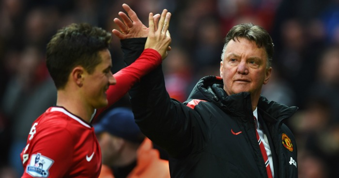 Ander Herrera: Has a good relationship with Louis van Gaal at Manchester United