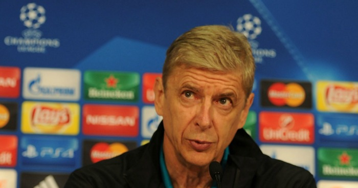 Arsene Wenger: Ready for Dinamo Zagreb clash