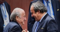 Blatter & Platini: Banned for eight years