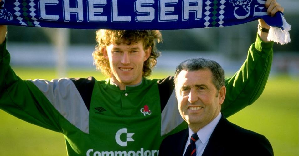 Bobby Campbell Dave Beasant Chelsea 1989 TEAMtalk