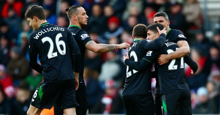 Stoke City: Celebrate Bojan's goal at Southampton