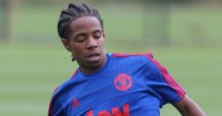 DJ Buffonge: Midfielder joined United (pic: Man Utd Official)