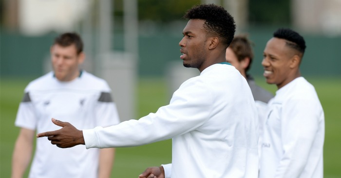 Daniel Sturridge: Liverpool striker back in training