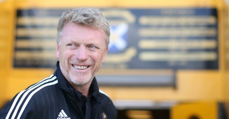 David Moyes: Manager understood to want return to England