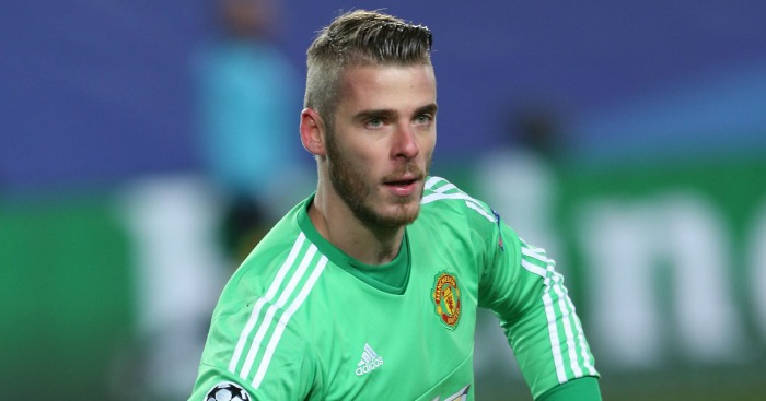 David de Gea: Insists he is happy at Manchester United