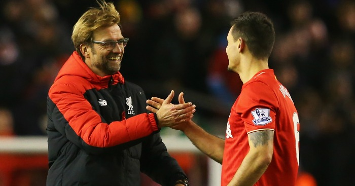 Dejan Lovren: Fit to return for Liverpool against Manchester City