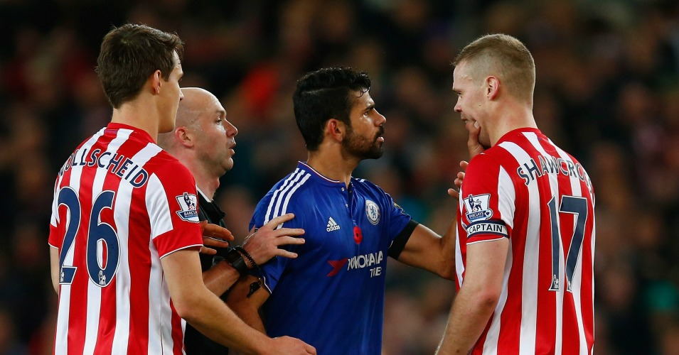Diego Costa: Striker has been involved in a number of bust-ups