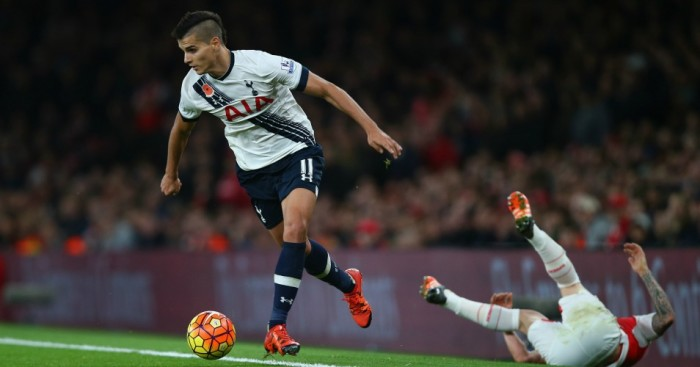 Erik Lamela: Wants to play in Champions League with Tottenham