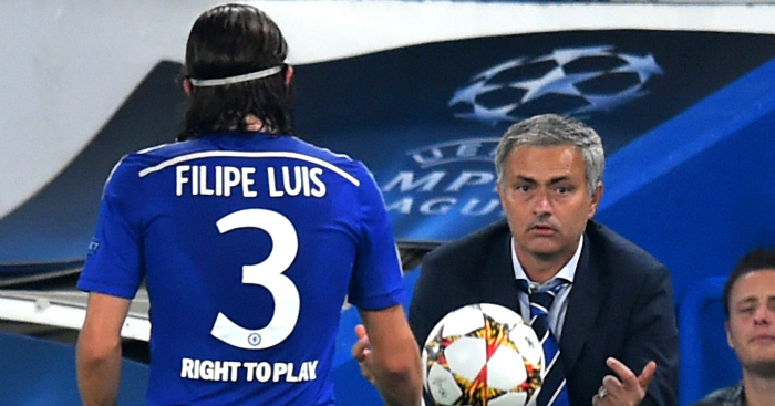 Filipe Luis: Tells Jose Mourinho not all players respond to criticism