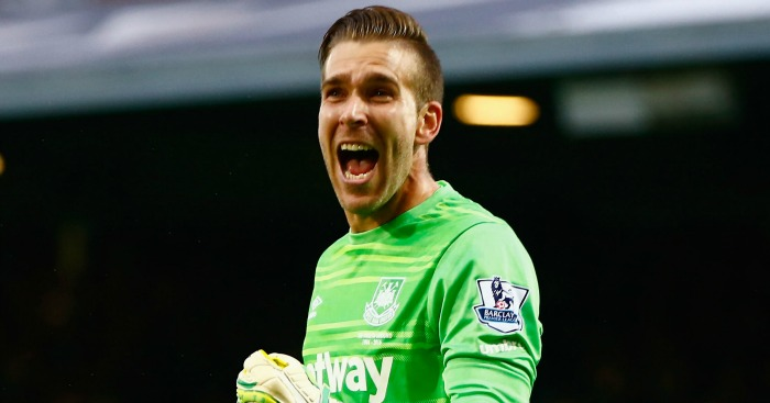 Adrian: West Ham goalkeeper will miss Swansea City game
