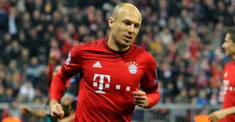 Arjen Robben: Happy at Bayern