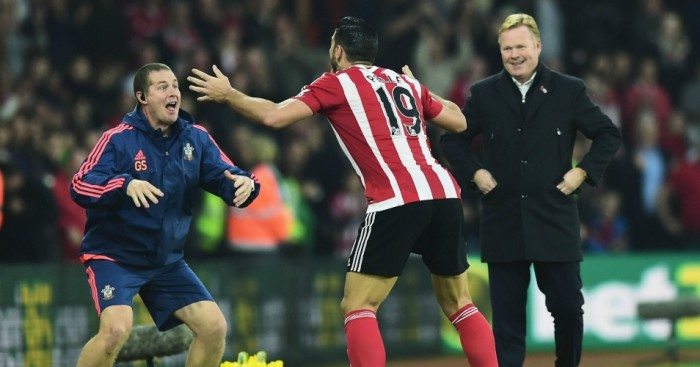 Graziano Pelle: Striker celebrated his goal with the haka