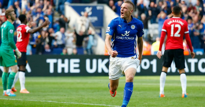 Jamie Vardy: Likely to be involved against Spurs
