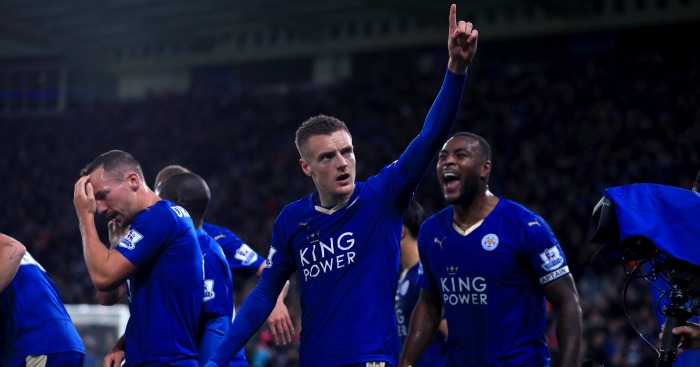 Jamie Vardy: Backed to score for Leicester City against Everton