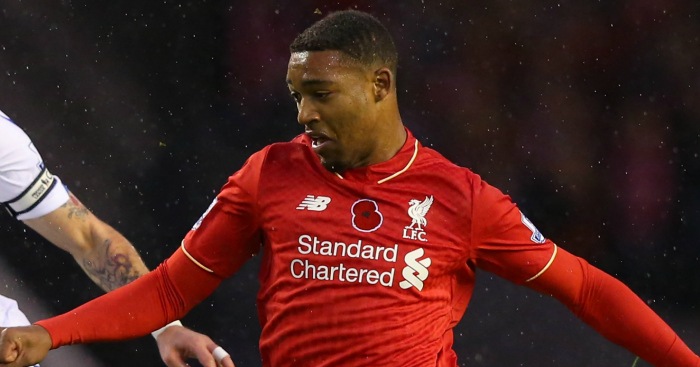 Jordon Ibe: Frustrated by Liverpool's loss to Palace