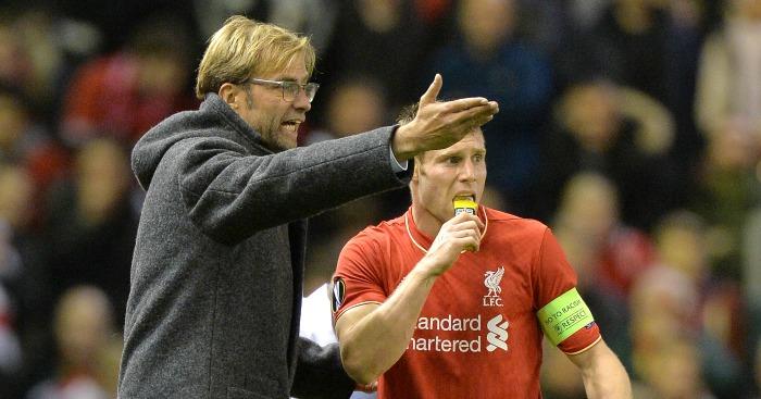 Jurgen Klopp: Lets James Milner and co to miss training