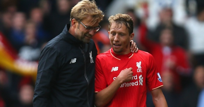 Lucas: Way down Klopp's midfield pecking order