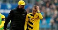 Jurgen Klopp: Pictured with Marco Reus of Dortmund