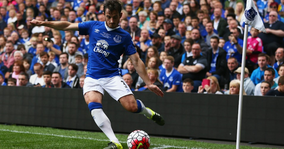 Leighton Baines: On the mend