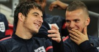 Leighton Baines & Tom Cleverley: Duo have been working on their fitness