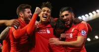 Liverpool: Celebrate James Milner's winner against Swansea City