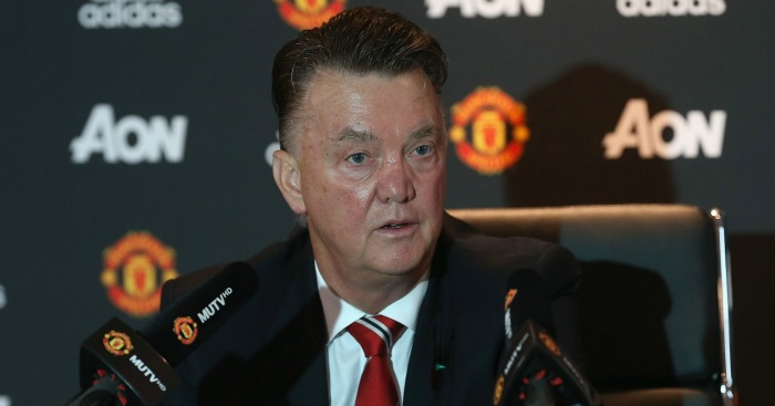 Louis van Gaal: Manchester United boss faced the media on Monday
