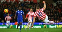 Marko Arnautovic: Volleys Stoke to victory over Chelsea
