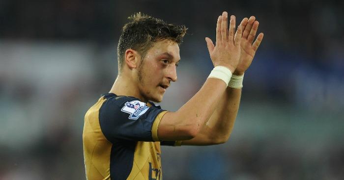 Mesut Ozil: Arsenal midfielder the league's most creative player
