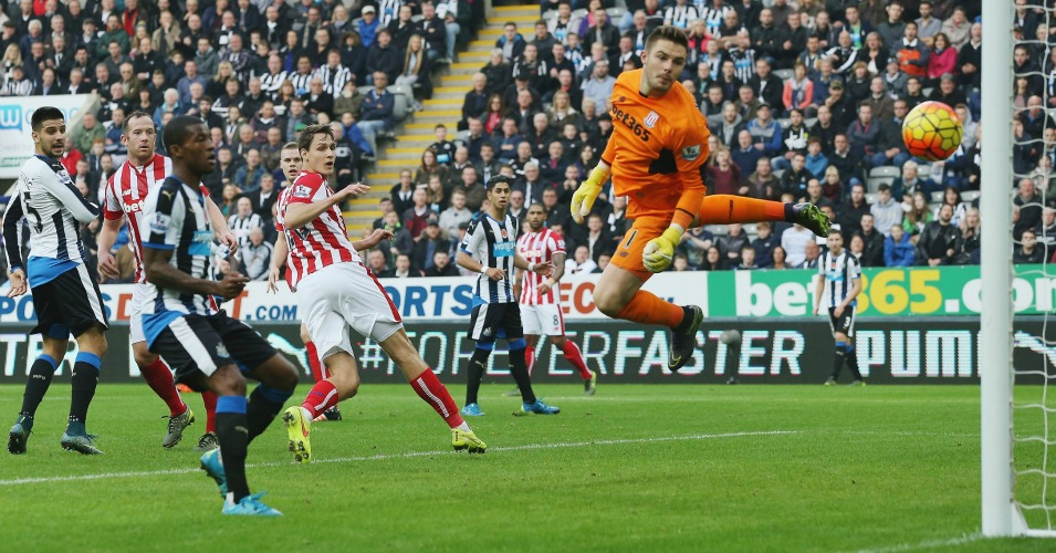Unbeatable: Newcastle failed to find a way past Jack Butland