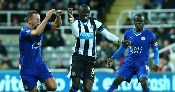 Papiss Cisse: Striker scored one goal for Newcastle this season