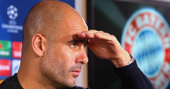 Pep Guardiola: Favourite to take over at Manchester City