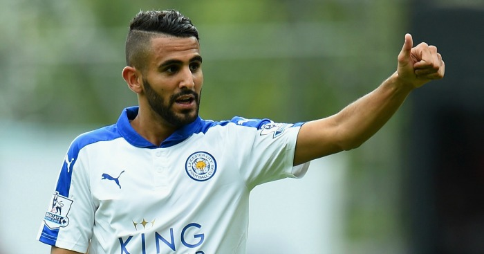 Riyad Mahrez: Wanted at Manchester United