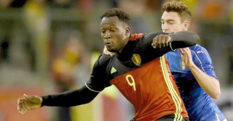 Romelu Lukaku: Criticized for poor display against Italy.