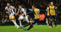 Santi Cazorla: Missed penalty for Arsenal at West Brom