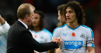 Steve McClaren: Hoping Fabricio Coloccini orders team-mates about