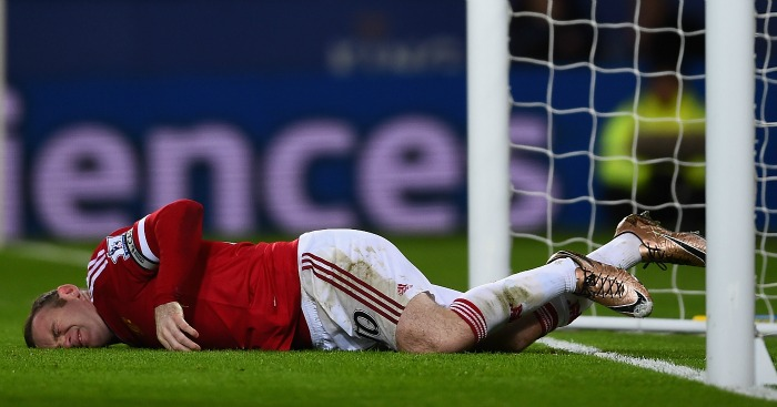 Wayne Rooney: Again failed to score in Manchester United's draw at Leicester City