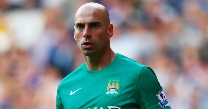 Willie Caballero: Starts for Manchester City against Southampton