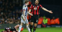 Adam Smith: Lies in agony after James McClean challenge
