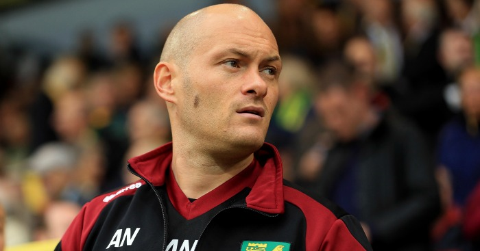 Alex Neil: Urged Norwich City players to ignore protest at Arsenal