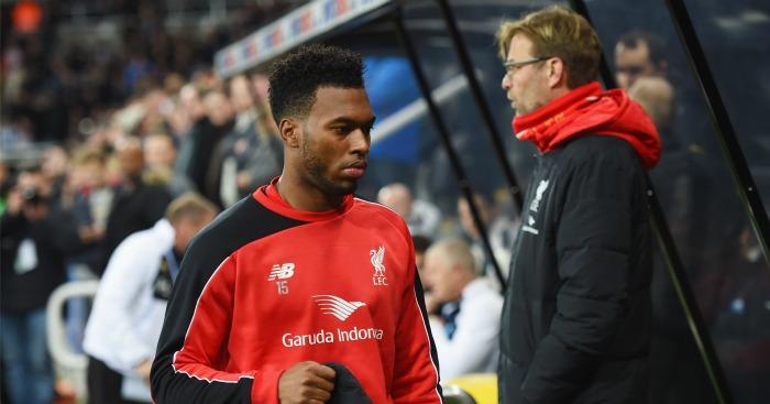 Daniel Sturridge: Apparently not in Jurgen Klopp's Liverpool plans