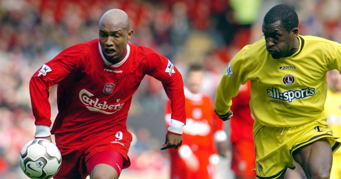 El Hadji Diouf: Forward joined Liverpool for £10m in 2002