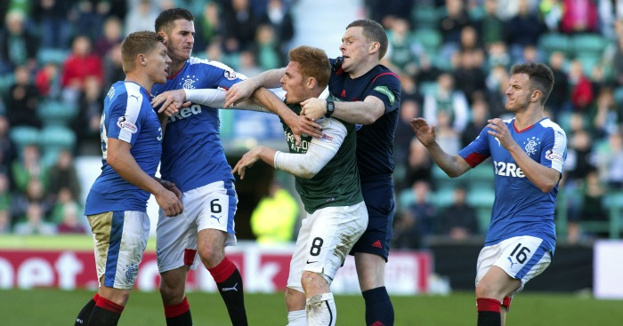 Francis Fyvie: Midfielder has accepted two-match ban