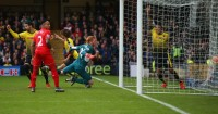 Adam Bogdan: Ball kicked out of his hands for Watford's first goal